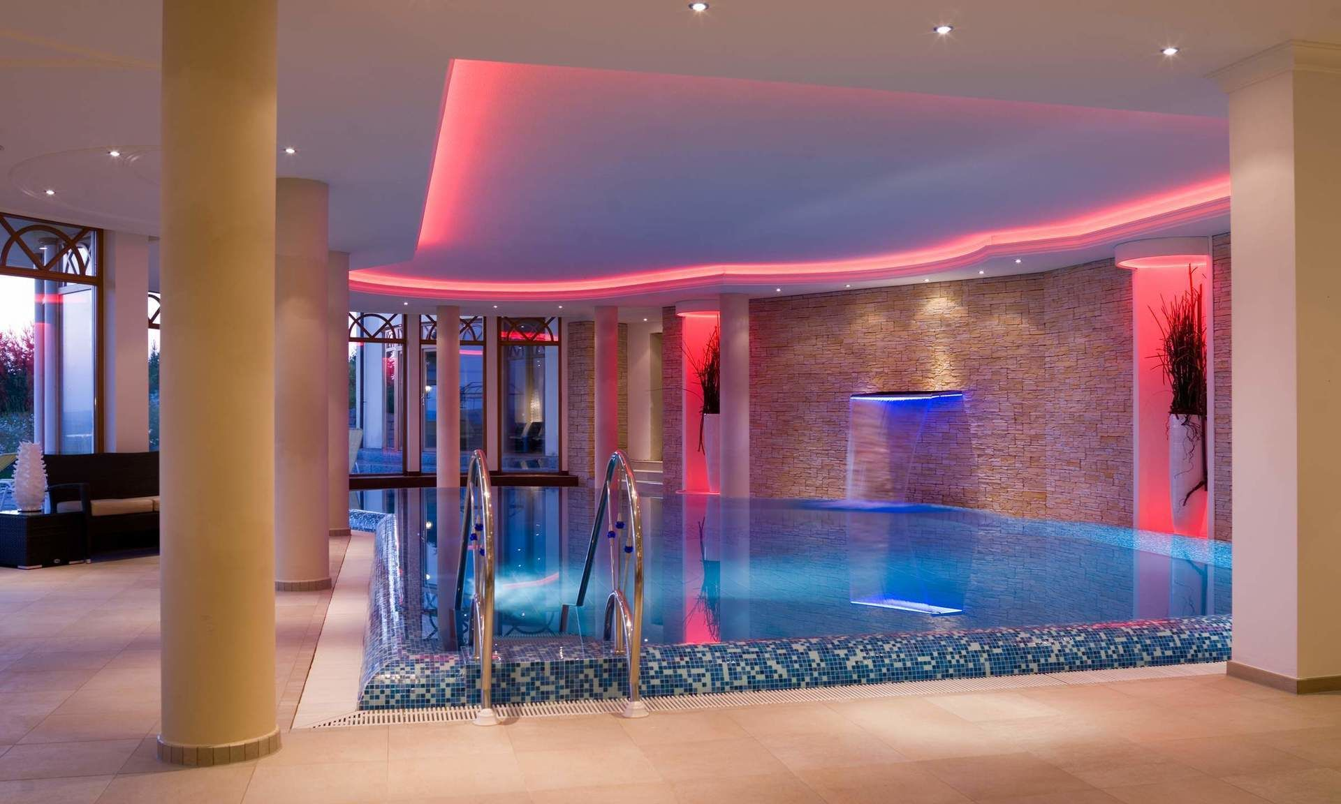 Pool indoor wellness hotel Landhotel Birkenhof Bavaria