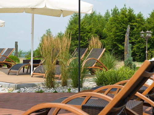 Outdoor Pool Landhotel Birkenhof Bavaria Wellnesshotel