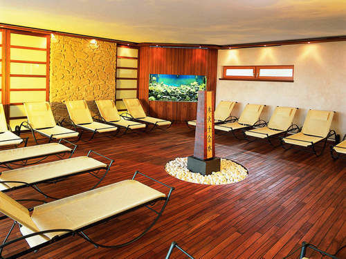 Relaxation room Landhotel Birkenhof wellness Bavaria Bavarian Forest